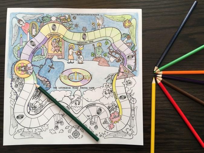 Learn Faith Through Coloring