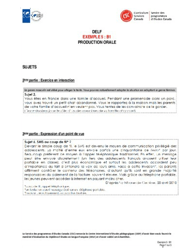 "Image du document ""Exemple 5 : B1 orales"""