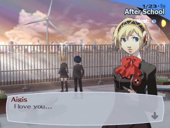 Persona 3 (Gender + Sexuality) (6/6)