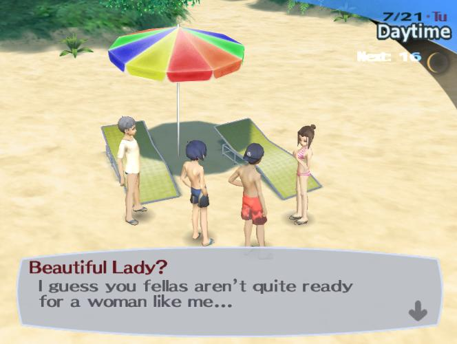 Persona 3 (Gender + Sexuality) (2/6)