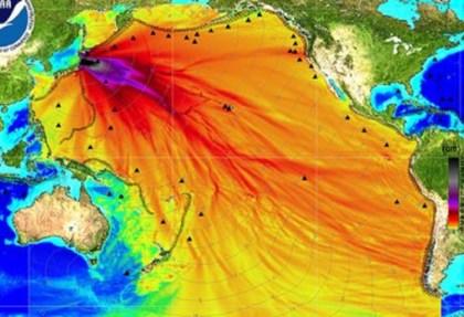 Radiação de Fukushima e as consequências no mundo