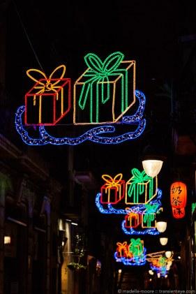 Barcelona Christmas Illuminations 2015