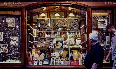 Ganiveteria Roca, Plaça del Pi, Barcelona