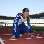 Atleta Bianca Răzor a obţinut un timp excepţional la mondialele de la Moscova dar a ratat calificarea în finala probei de 400 metri plat/ FOTO: Dan Bodea