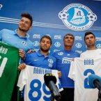 Alexandru Vlad îşi va înfrunta joi fosta echipă / Foto: fcdnipro.ua