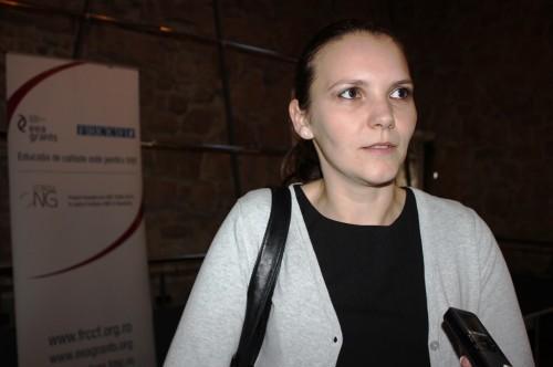 Odesa Ioica,   profesor de matematică în cadrul centrului Every Child din Cluj-Napoca/ Foto: Dan Bodea
