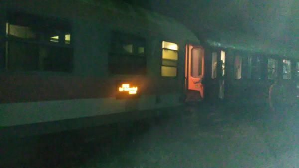 Un tren a deraiat la Dej. Nicio persoană nu a fost rănită