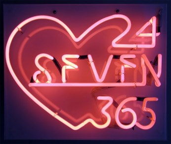 '24/7/365 Neon' by Alice Stallard http://www.alicestallard.com