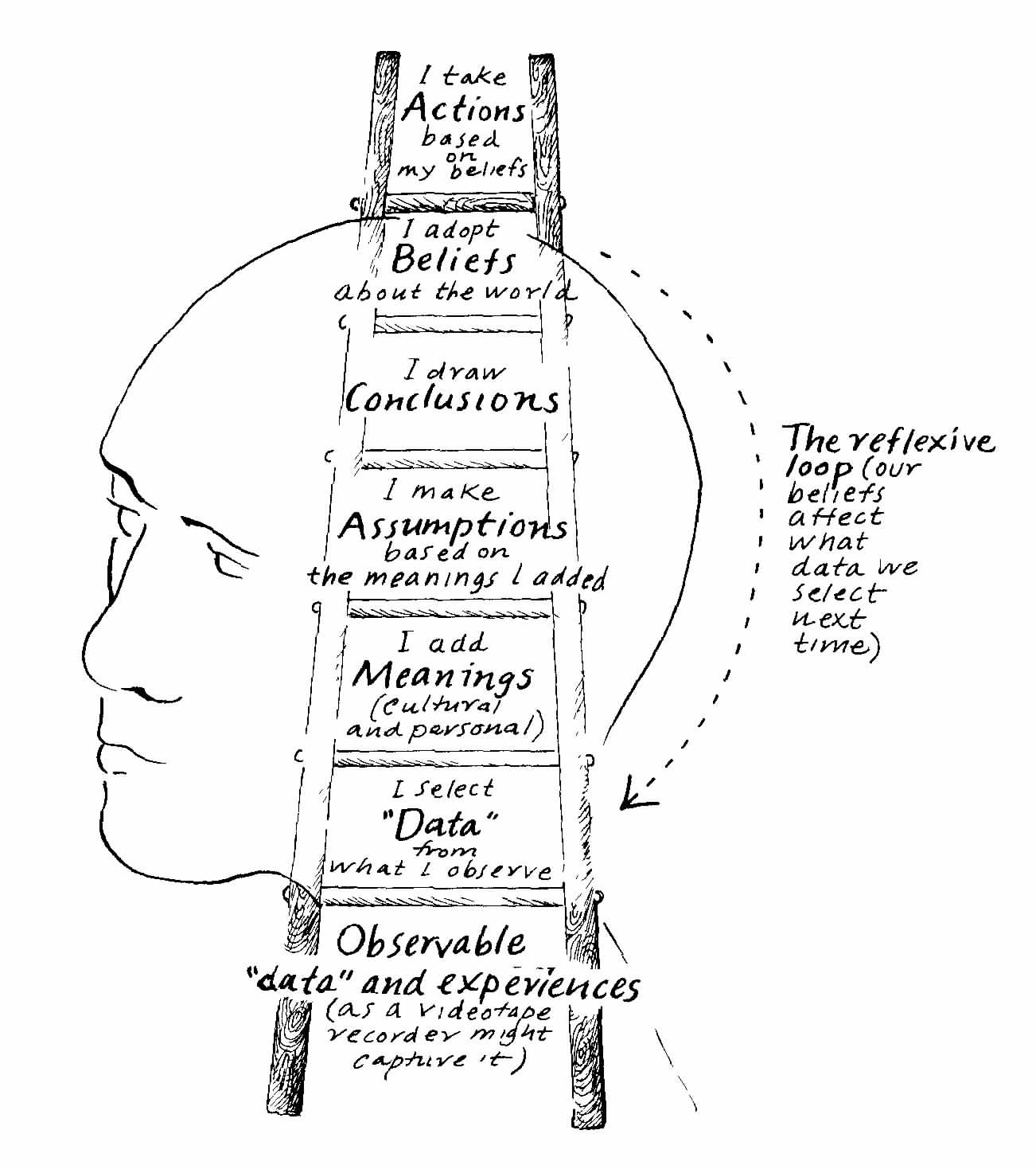Reflection On Dialogue And Peter Senge S Ladder Of