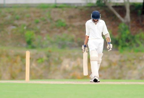 He was a cricketing sensation..