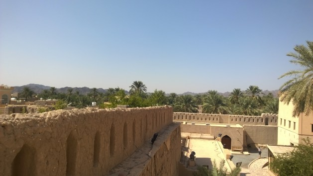 N for Nizwa Fort in Oman