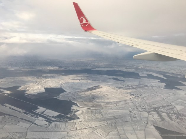 Photography: View from the aeroplane window