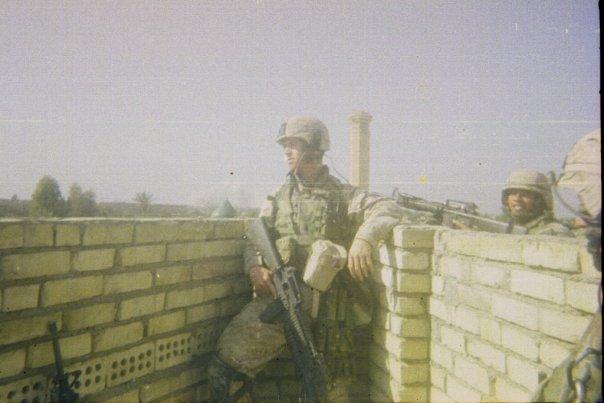 Mike in Fallujah 2004