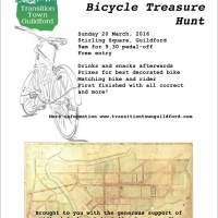 The Great Guildford Bicycle Treasure Hunt 2016