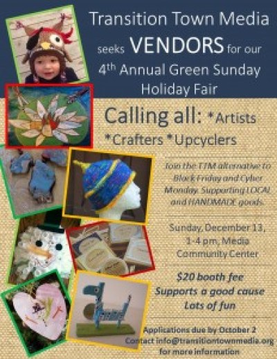 GS Call for Vendors Poster 12-13-2015