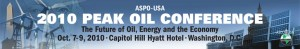 ASPO-USA Peak Oil Conference 2010
