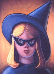 The Little Witch. Painting/Photo: Sheryl Humphrey.