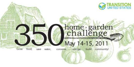 350 home and garden challenge logo
