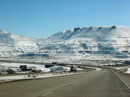 I-80 in Wyoming