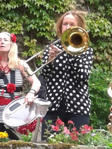 10th Avenue Band at last year's festival