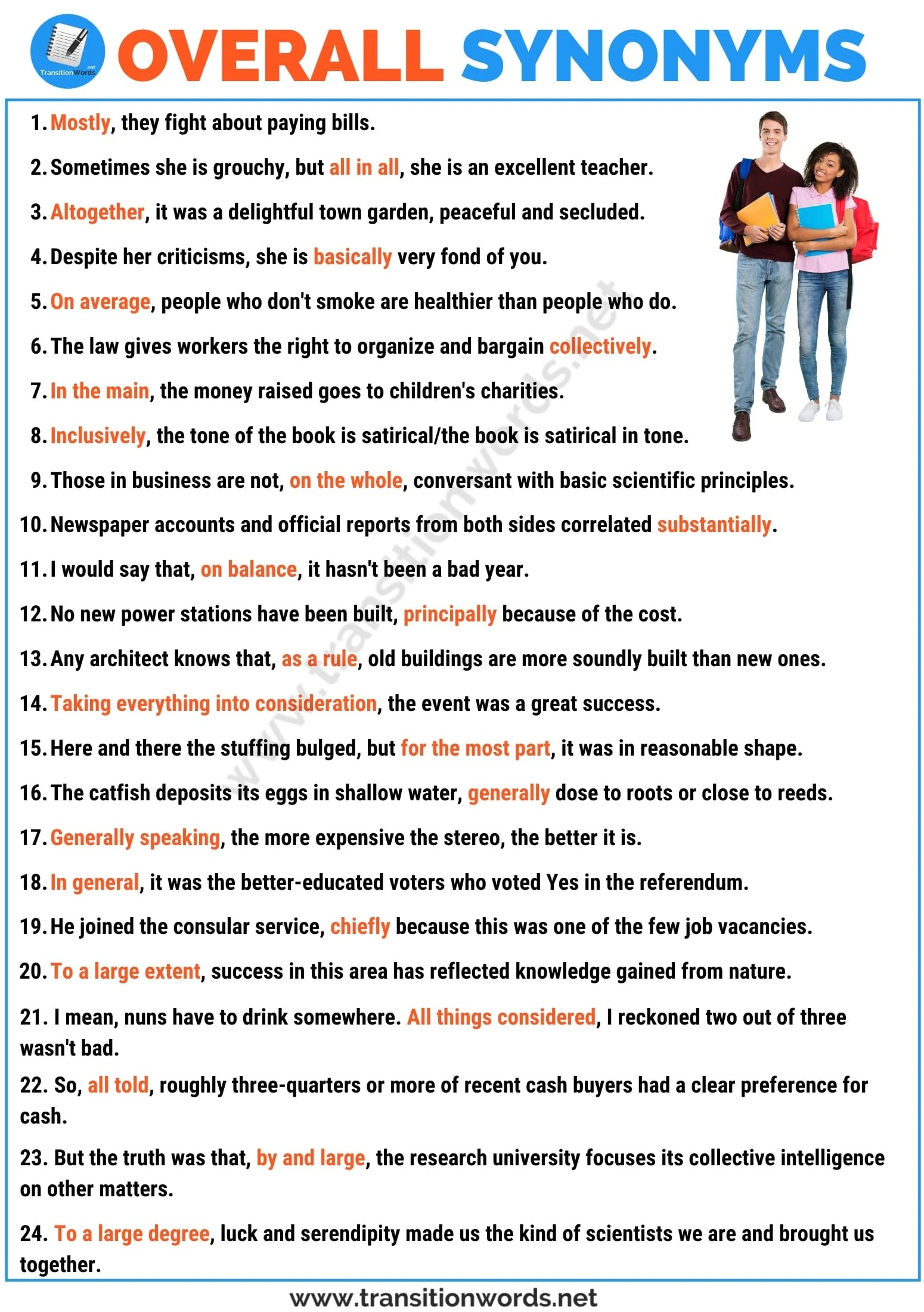 Overall Synonym List Of 28 Useful Synonym For Overall