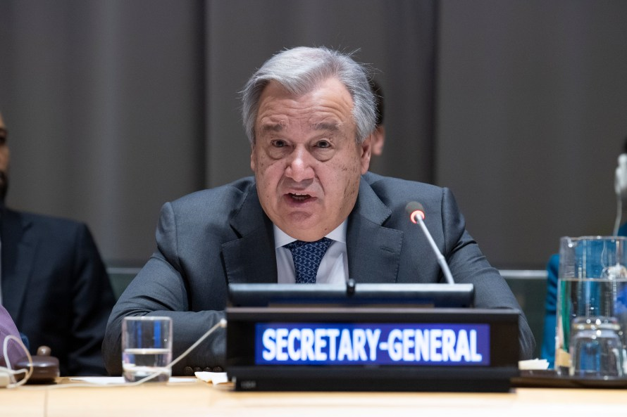 Informal Briefing by the Secretary-General on his Priorities for 2019