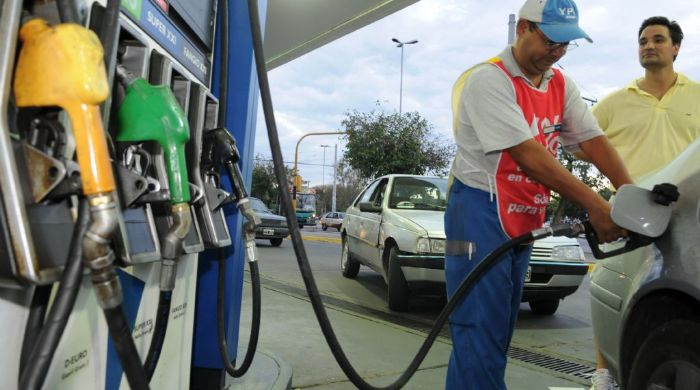 aumento de combustibles suben las naftas