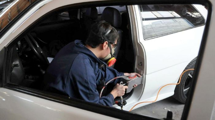 Resultado de imagen para policía bonaerense  + control de la verificación vehicular
