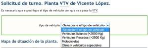 Como sacar turno VTV Provincia