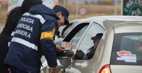 control policia caminera de cordoba