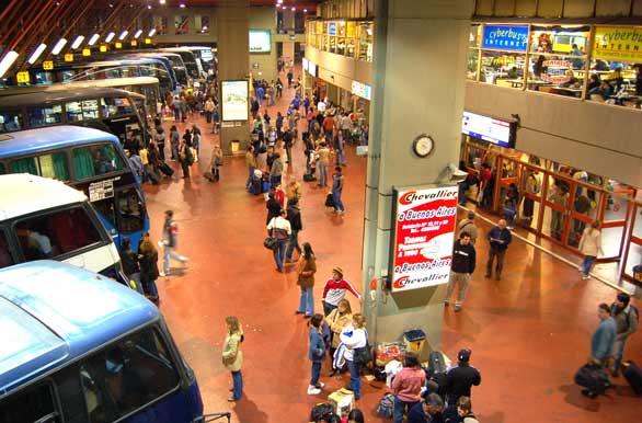 terminal de ómnibus córdoba pasajes a retiro boleterías