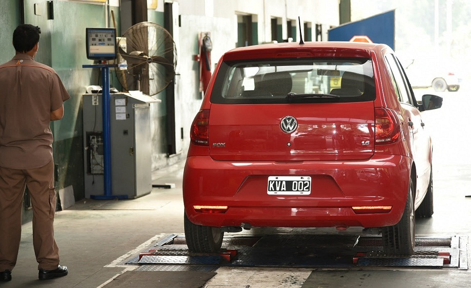 Inspeccion de auto en VTV CABA