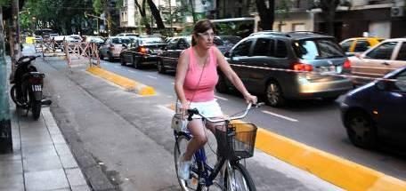 Bicisendas Buenos Aires (Foto: Perfil)