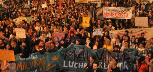 Marcha contra Monsanto en Córdoba (Foto: LaVoz)