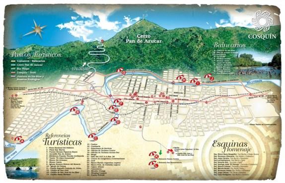 Mapa de Cosquín (http://www.cosquinturismo.gob.ar)