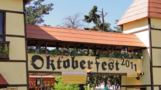 Entrada a la Fiesta Nacional de la Cerveza Oktoberfest - Foto elsitiodelavilla