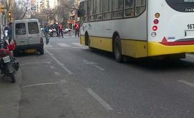 paro protesta corte por marcha colectivo