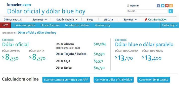 cotizacion-dolar-argentina-la-nacion