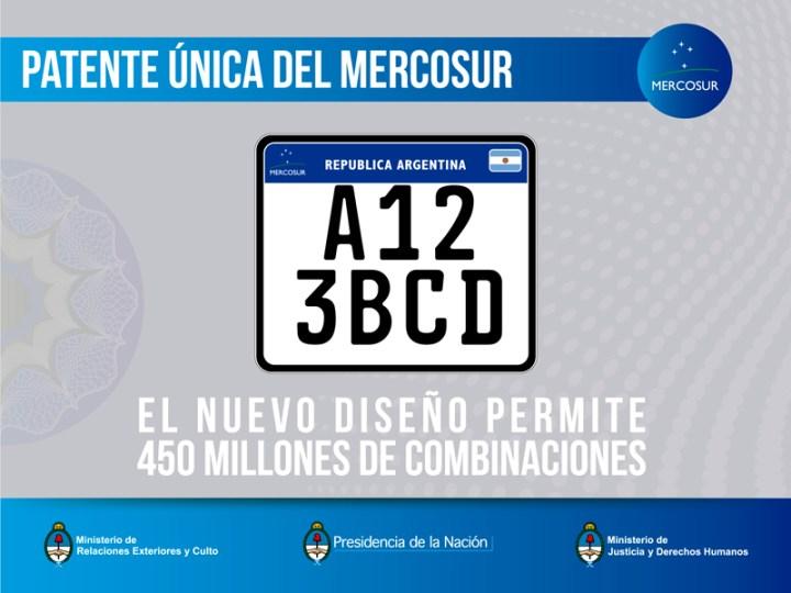 Patente unica del Mercosur - 450 millones de combinaciones_2