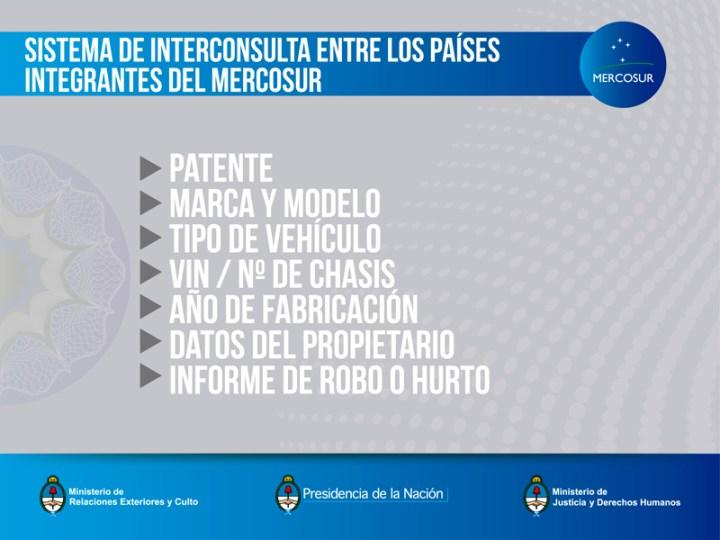 Patente unica del Mercosur - Sistema de interconsulta entre los paises
