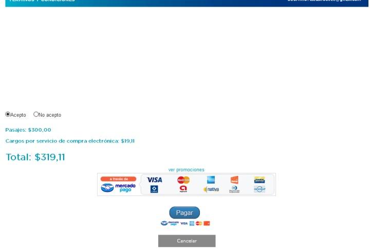 Compra de pasajes por internet para el tren a Retiro - 5