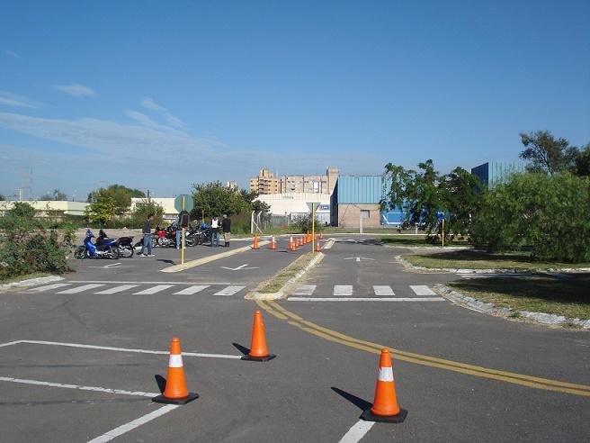 Pista de manejo - Carnet de motos Cordoba - Centro de Capacitacion de Transporte y Transito