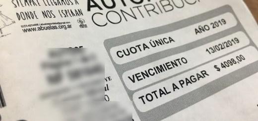Cedulon Impuesto Automotor Municipalidad Cordoba