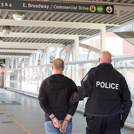 Transit Police Arrest