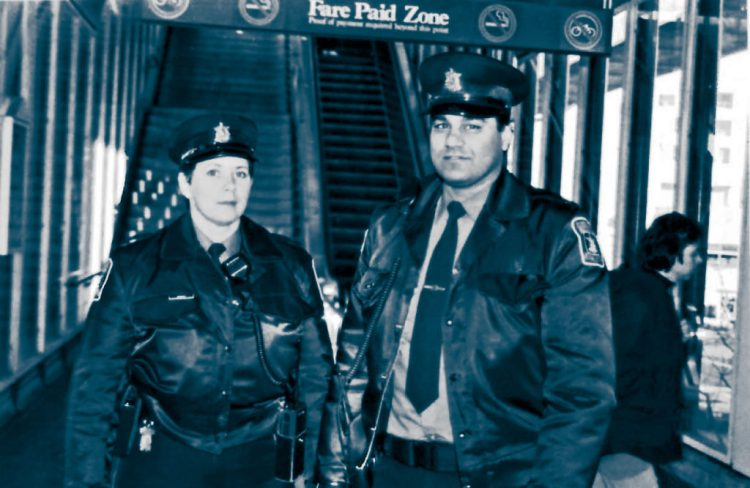 Image of Cst. Wallace and Cst. Chahal