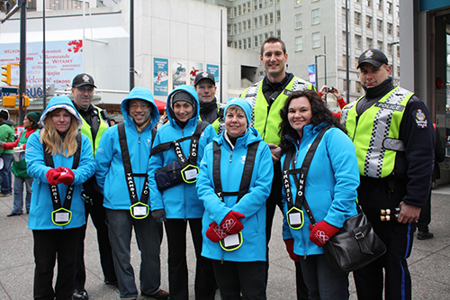 Image of Olympic Volunteers and Officers