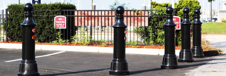 Elegant Metal Bollards