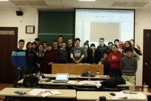 Figure 5 アジア感が満載な中国語クラス