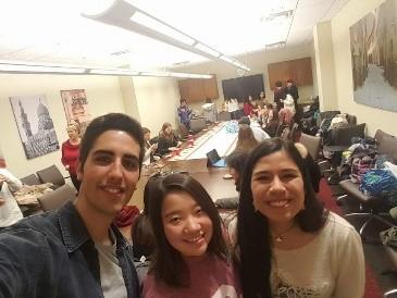 スペイン人とペルー人の友達