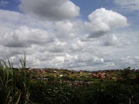 Die Favela kann sich durchaus auch von ihrer schönen Seite zeigen.